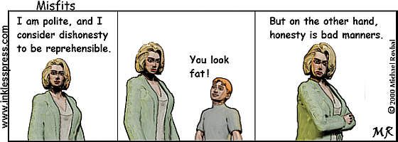 Why We Prefer Lies