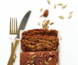 Gluten Free and Vegan Pumpkin Bread