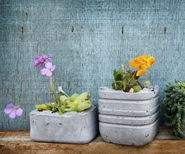 How to Customized Handmade Concrete Flower Pots