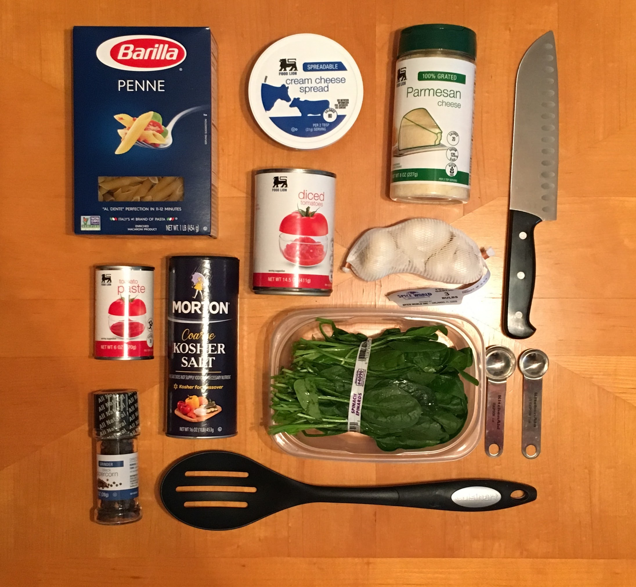 Picture of Gather Your Ingredients