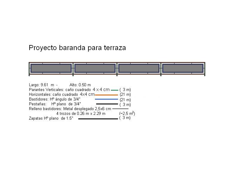 Terrace Railing Baranda De Terraza Instructables
