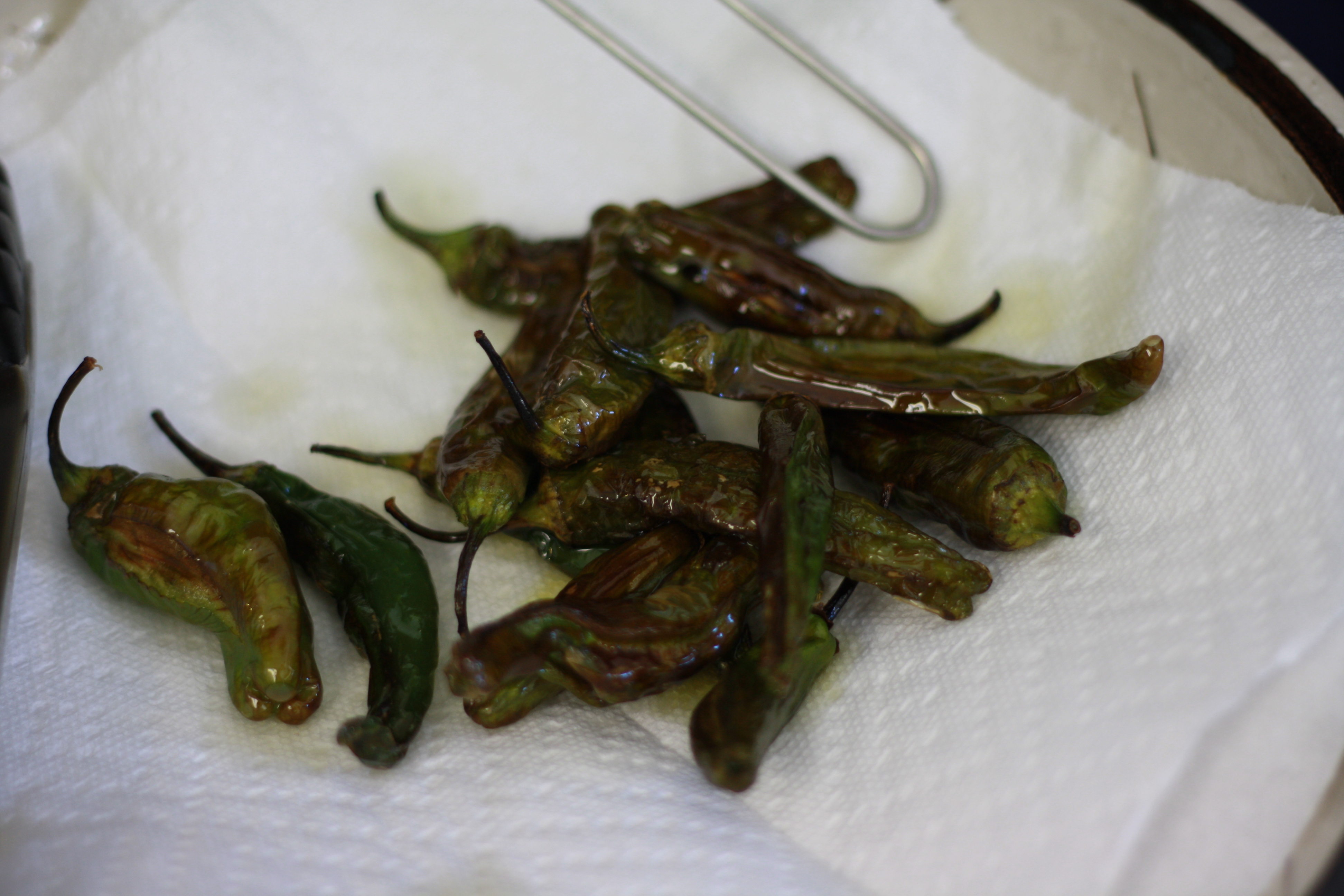 Picture of Drain and Dry the Peppers