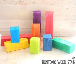 DIY Nontoxic Wood Stain