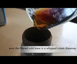 How to make Nitro coffee