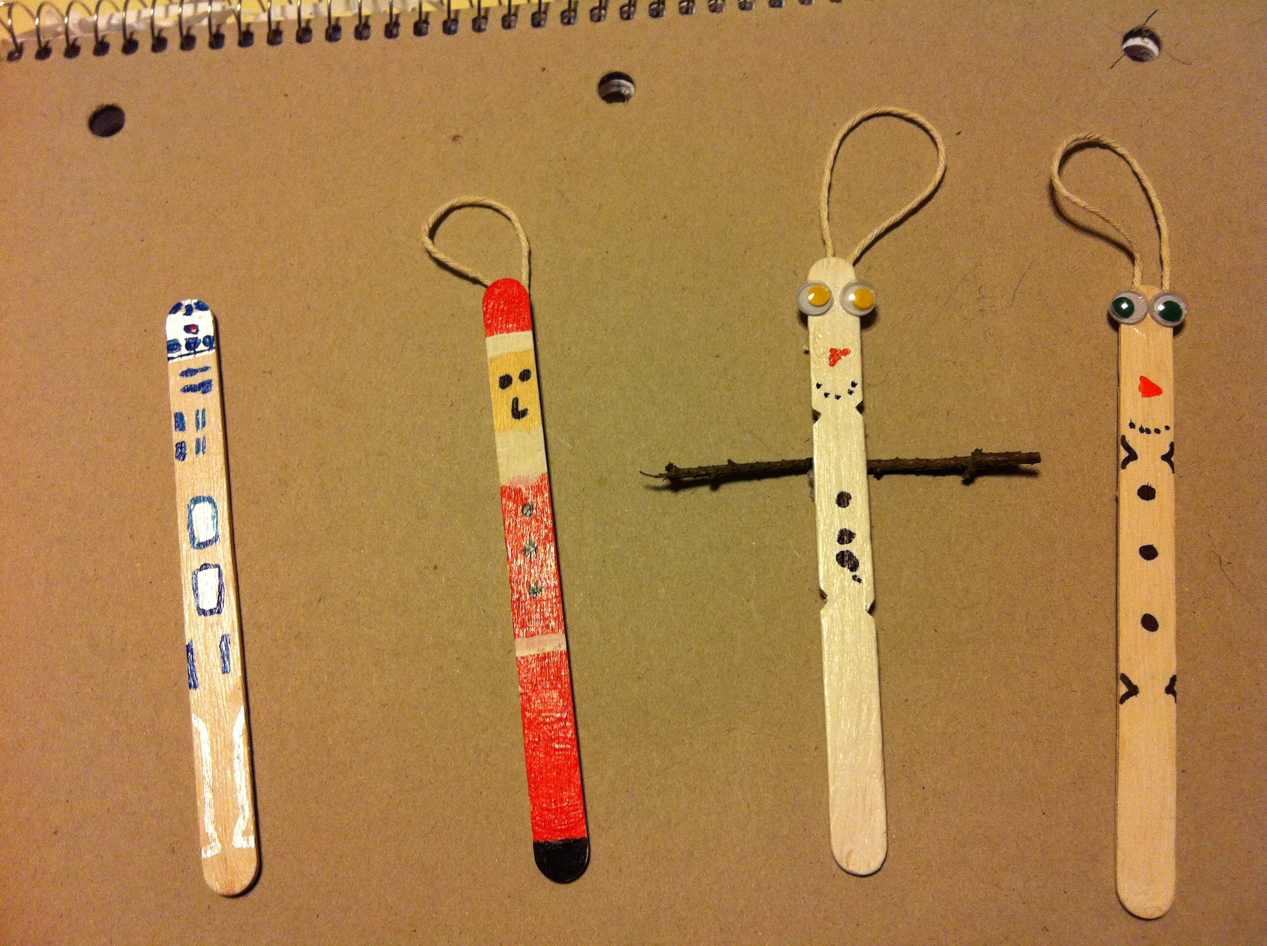 Picture of Easy Popsicle Stick Ornaments