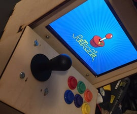 Making a JAMMArcade With Raspberry Pi (1-player)