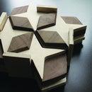 2D and 3D puzzle sets