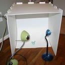 Collapsible Light Box For Those Short On Space And Cash