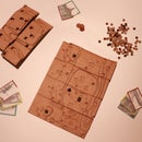 Portable Wooden Board Game System
