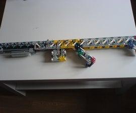 Knex pump action gun