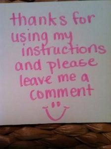 Thanks-please Comment!!!!!!