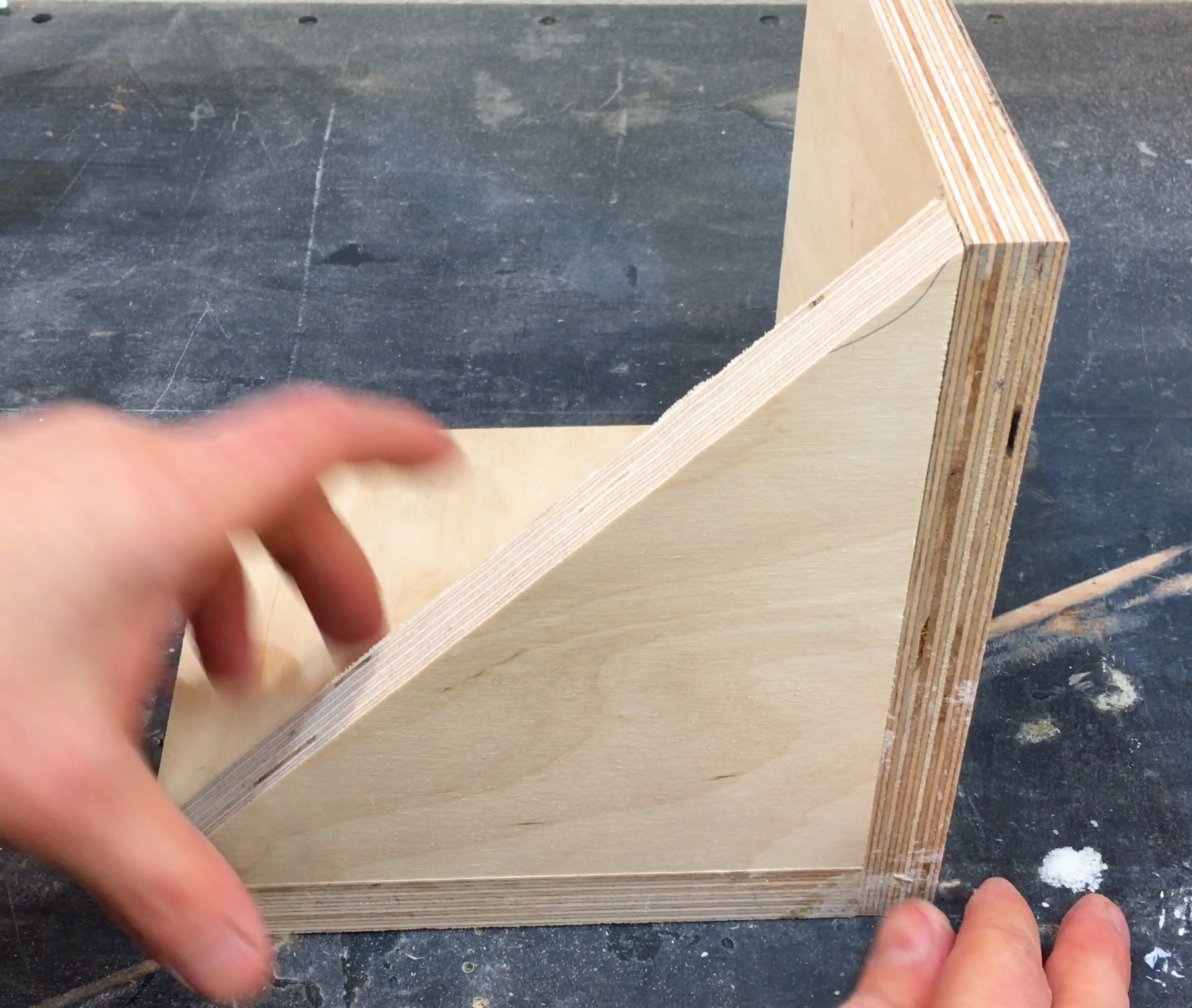 Picture of Cut the Side Supports.