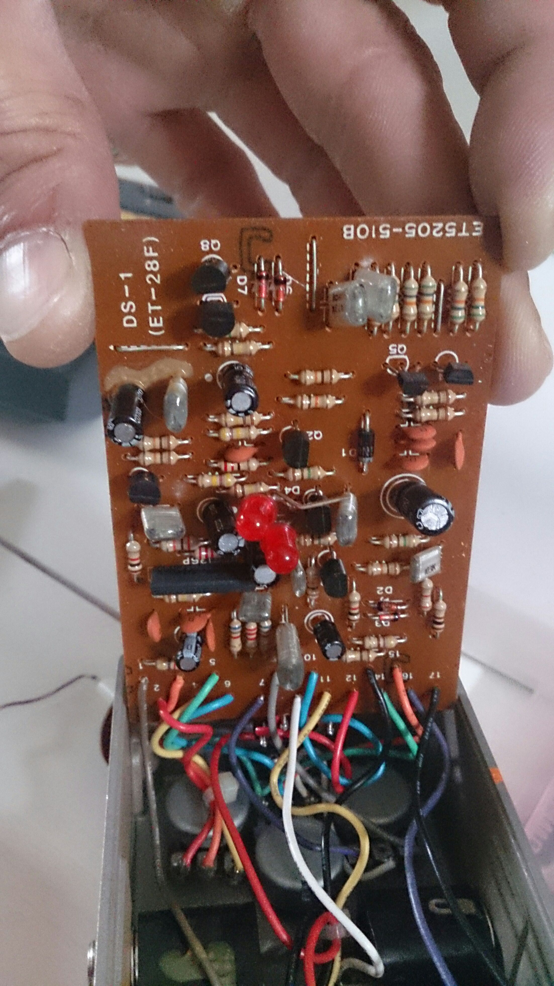 Picture of Boss DS-1 Grit Mod