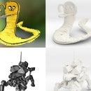 3D Print your Tilt Brush sketches using Meshmixer