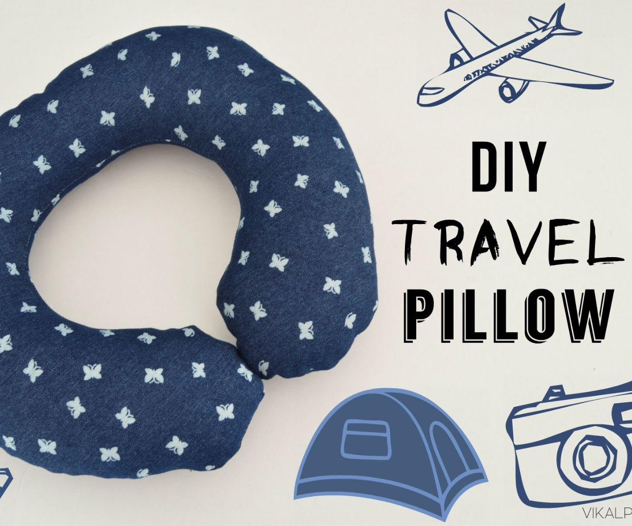 How to Sew a Travel Pillow: 6 Steps (with Pictures)