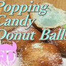 Blue Popping Candy Donut Balls Recipe from Food Devils