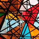 Invisible Art: Mosaics, Polarized Light, and 3D Glasses