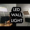 Simple $4 Minimalist LED Wall Light