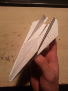 Simple and Fast MIG-like Paper Airplane