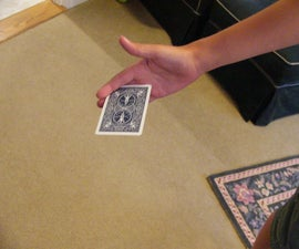 how to card throw