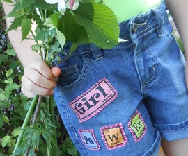 GIRL PoWEr:  Periodic Table Clothing Patches