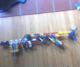 """Knex """"hurricane"""" pump-action shotgun"""