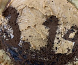 Peanut Butter Chocolate Silk Pie