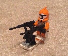 LEGO Rotating Machine Gun