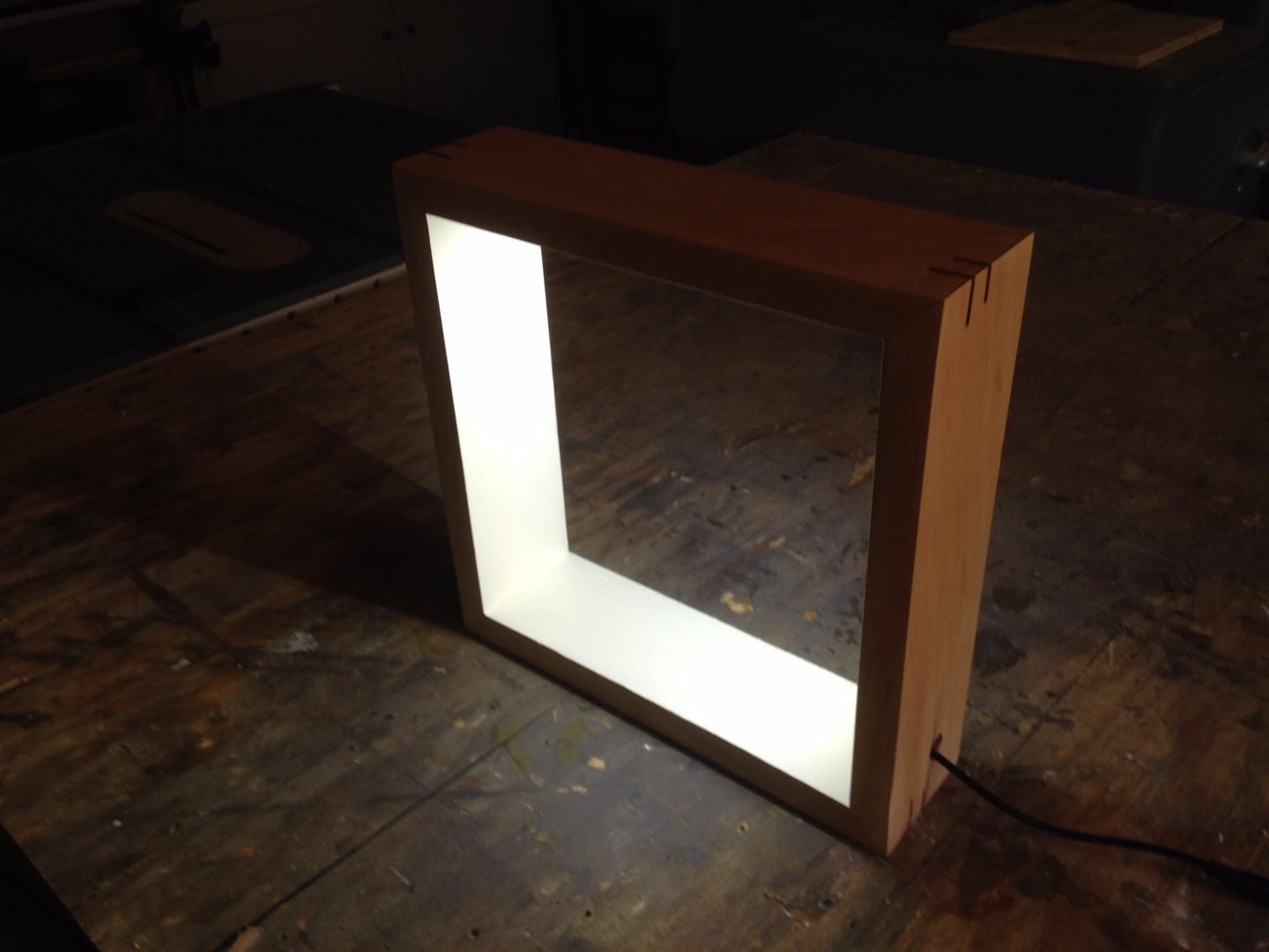 Picture of Picture Frame Desk Lamp