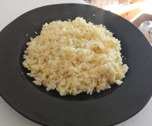 Perfect Golden Egg Covered Fried Rice!