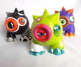3D Printed Designer Art Toys