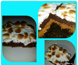 Easy Smore's Brownies