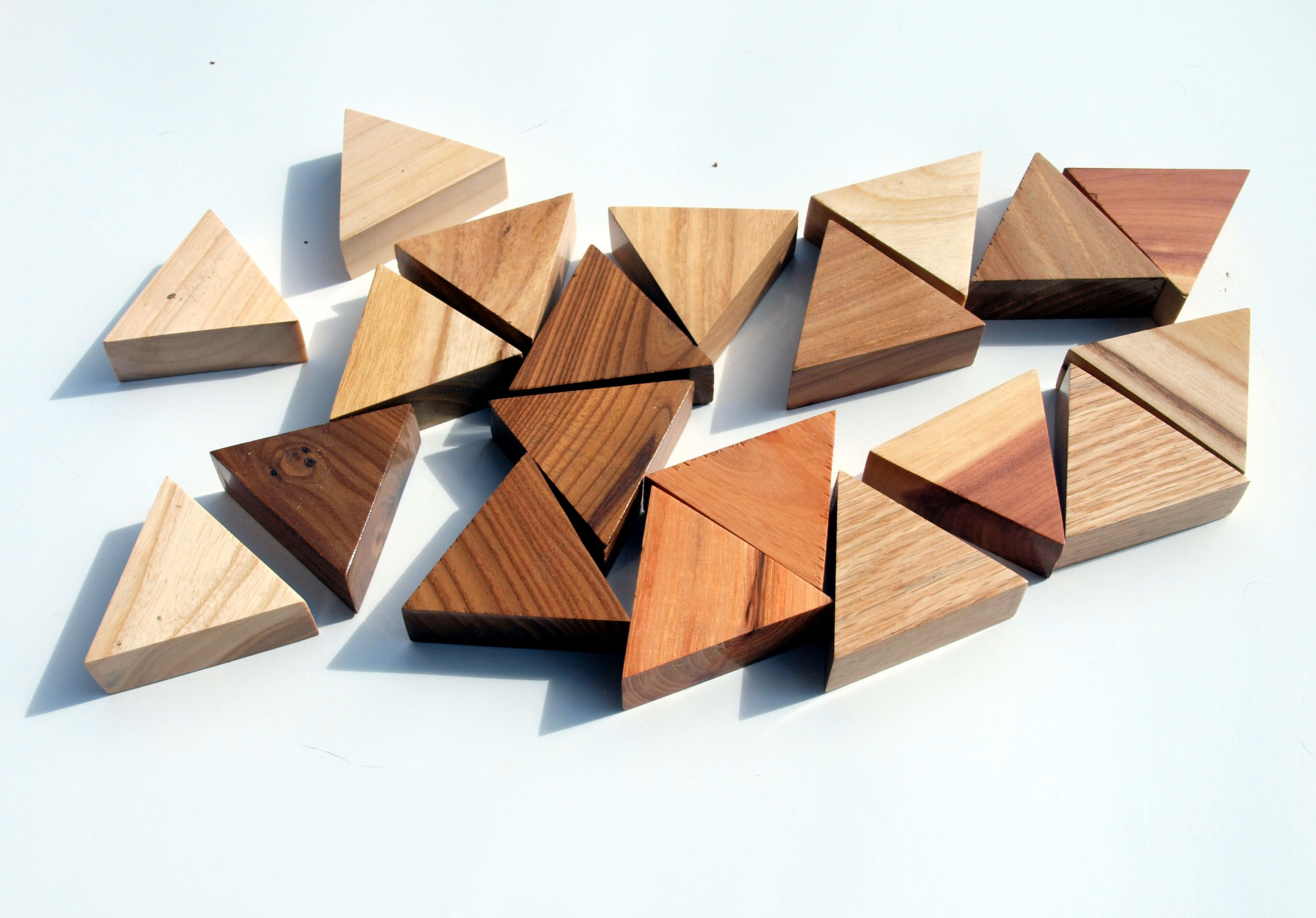 Picture of Cutting - Making Rhombus and Triangles