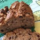 Cranberry Oatmeal Walnut Irish Soda Bread