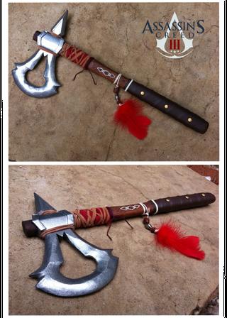 assassins creed 3 tomahawk template
