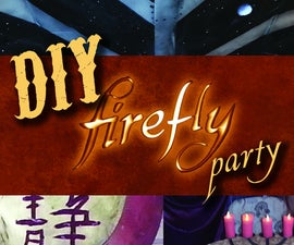 DIY Firefly Party