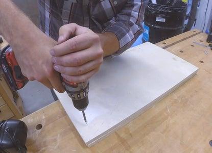 Lamp Base - Make Opening for Conduit