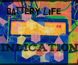 Displaying  Battery Life on a Liquid Crystal Display (LCD)