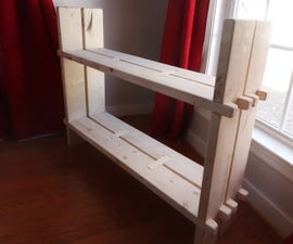 Simple Bookcase W/ Framing Lumber