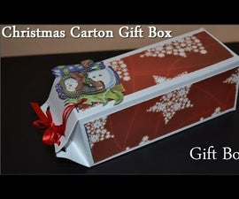 Origami Christmas Gift Box - Tutorial