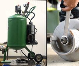 Making Air Compressor
