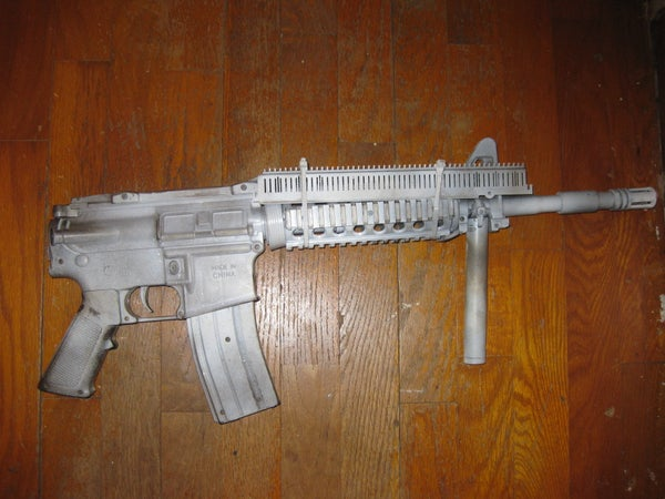 Airsoft M-16 Transformation