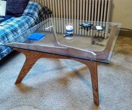 Imitation cross coffee table