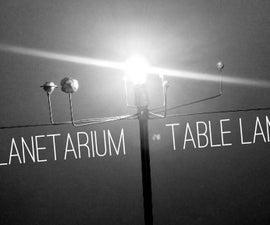 DIY Planetarium Table Lamp