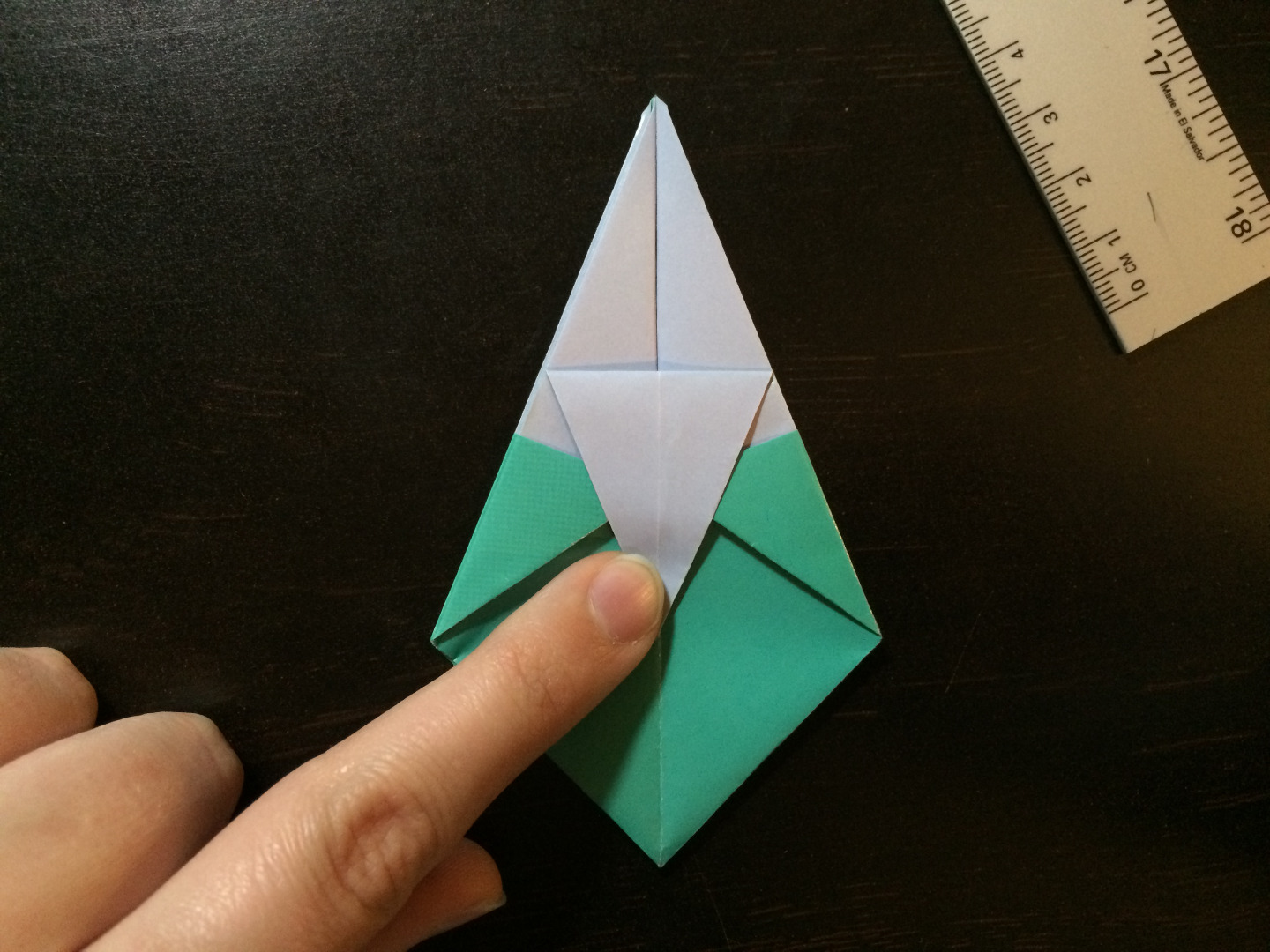 Picture of Folding Down the Flap