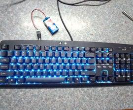 Backlit Keyboard (Blue)