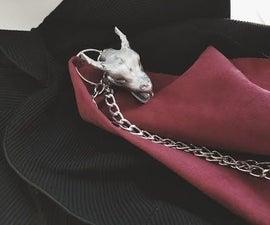 Game of Thrones- Daenerys Season 7 Dragon Head Inspired Dragon Chain