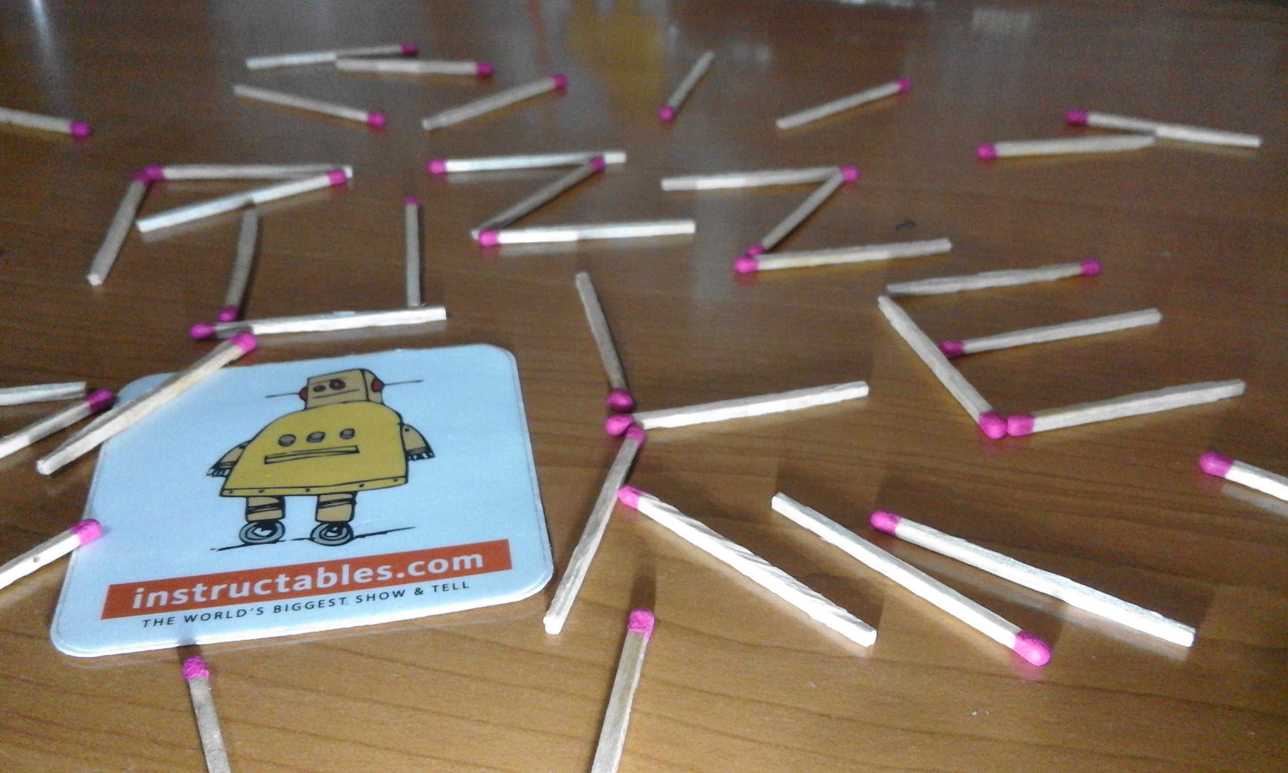 Picture of Matchsticks Puzzle Game (Try It Now!)