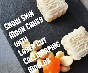 EASY No-bake Moon Cakes With Customised Moulds