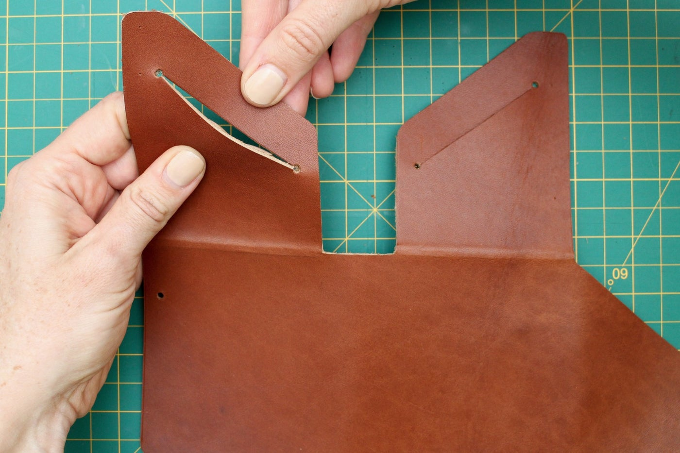 Cut Card Slots in the Wallet